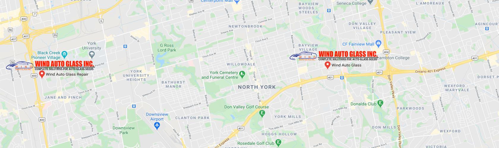 Wind Auto Glass - Serving North York, Vaughan, Scarborough, Markham, Richmond Hill, Brampton, Mississauga, Toronto